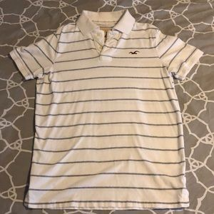 Youth Hollister Classic Stripe Polo